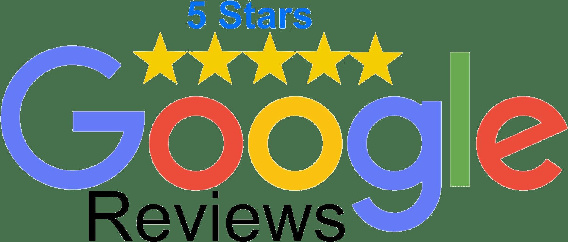 5 star google rating